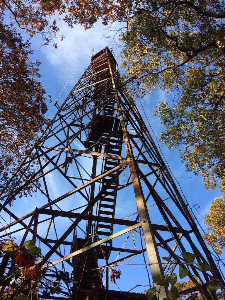 A Birmingham treasure – the Ruffner Mountain fire lookout tower