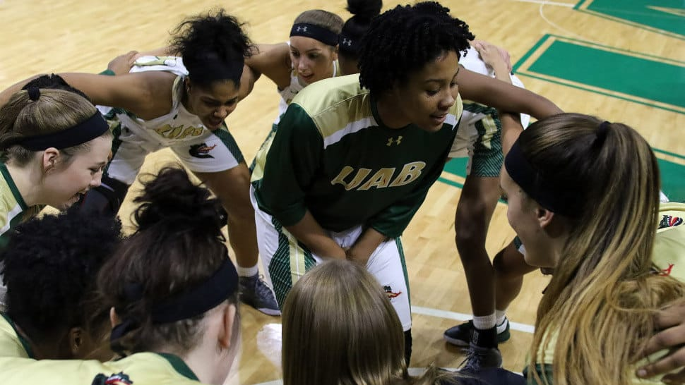 UAB's Women Basketball takes home their second largest win in history