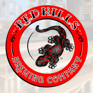 Distribution set for Red Hills Brewery Co.