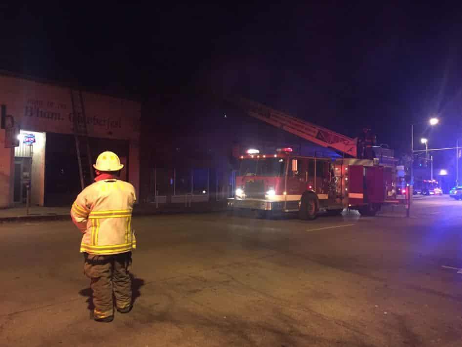 Fire at Urban Standard