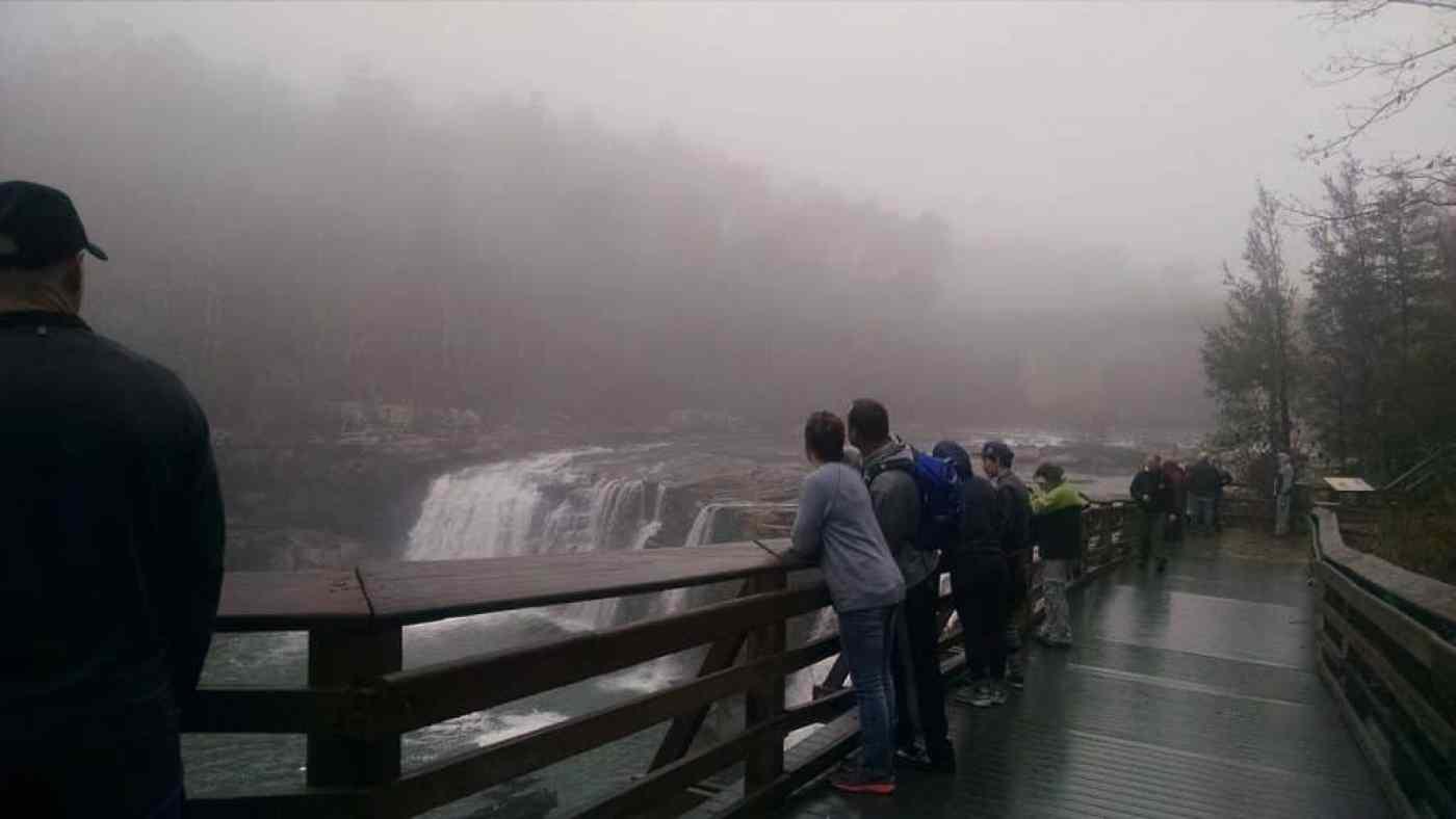 "Canyon Center's ""Hike to Martha's Falls"" January 1st, 2017"