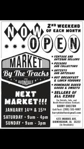 Market by the Tracks in Avondale
