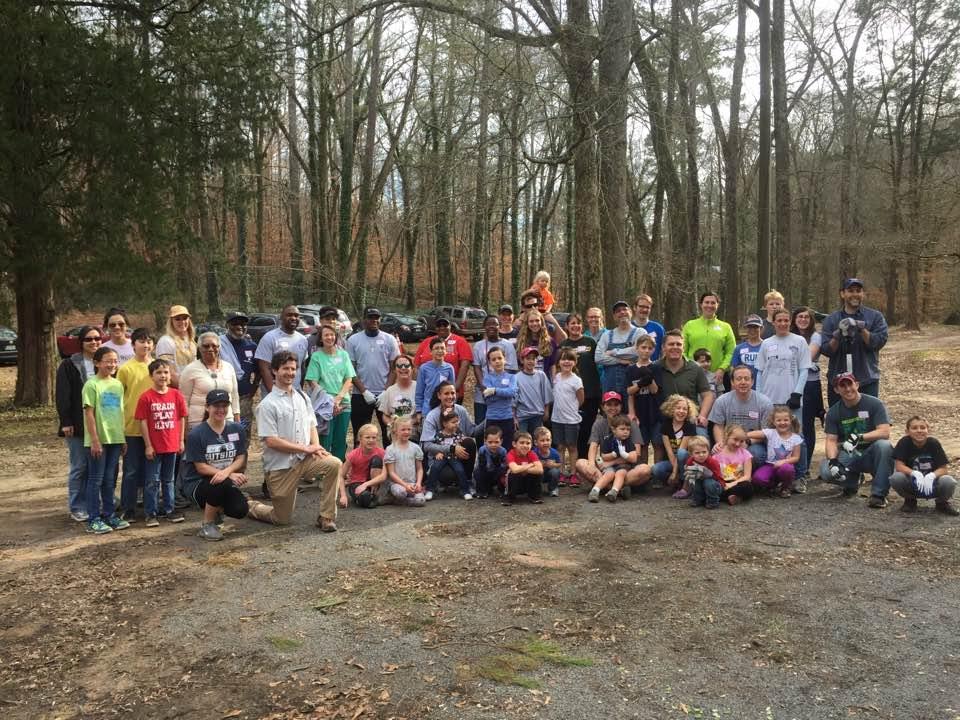 Hands on Birmingham – MLK Jr. Day of Service at Turkey Creek Nature Preserve