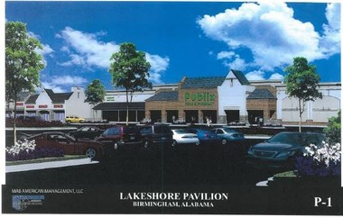 Lakeshore (Oxmoor Valley) could soon receive approval for a Publix Supermarket