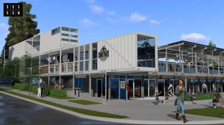 """Box Row"" – Avondale – Beginning Construction Soon"