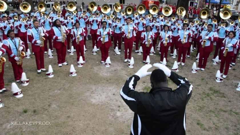Trump Tallagega Band Perform Inaugural