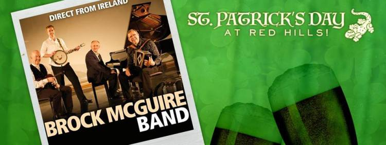 Brock McGuire St. Patty's Day Partin in the 'Ham Red Hills BRewing Company Birmingham AL