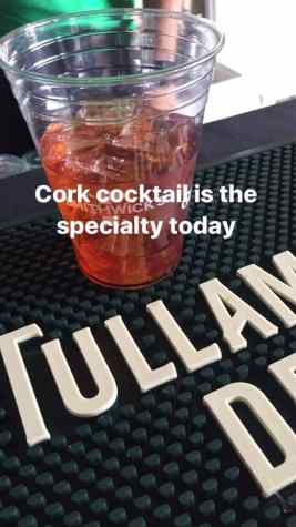 Cork cocktail