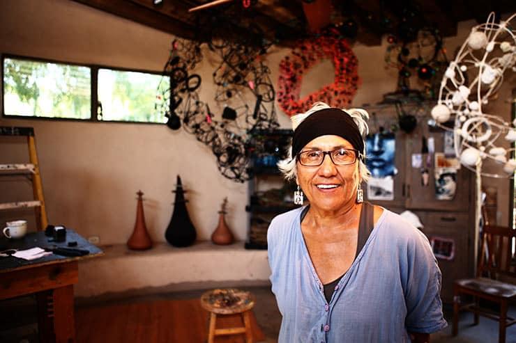 Award-winning Native American sculptor hosts free talk at BSC