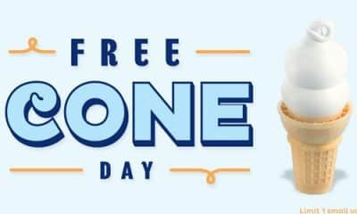 5 reasons we love free cone day at Dairy Queen – Monday March 20th