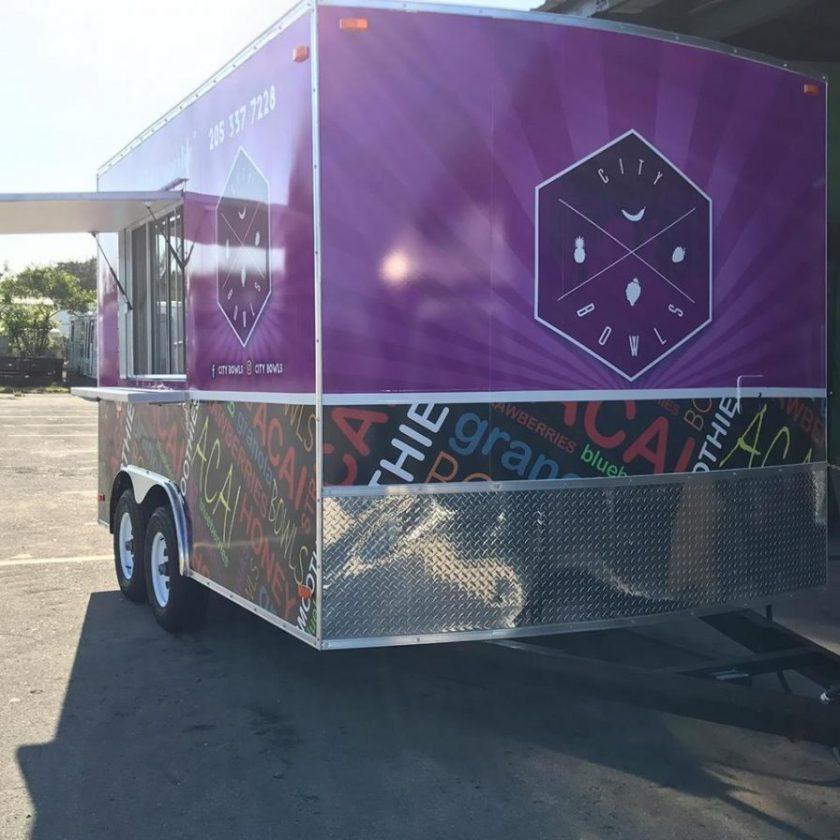 City Bowls food truck
