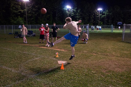 Kick it with Birmingham's Kickball League this season