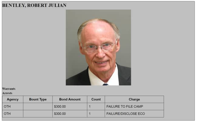 BREAKING NEWS: Alabama's Governor Robert Bentley resigns, tells Alabama citizens he loves them