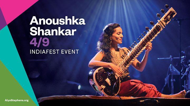 Anoushka Shankar IndiaFest Event Birmingham AL