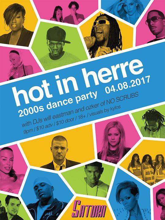 Hot in Herre Saturn Dance Party Birmingham AL