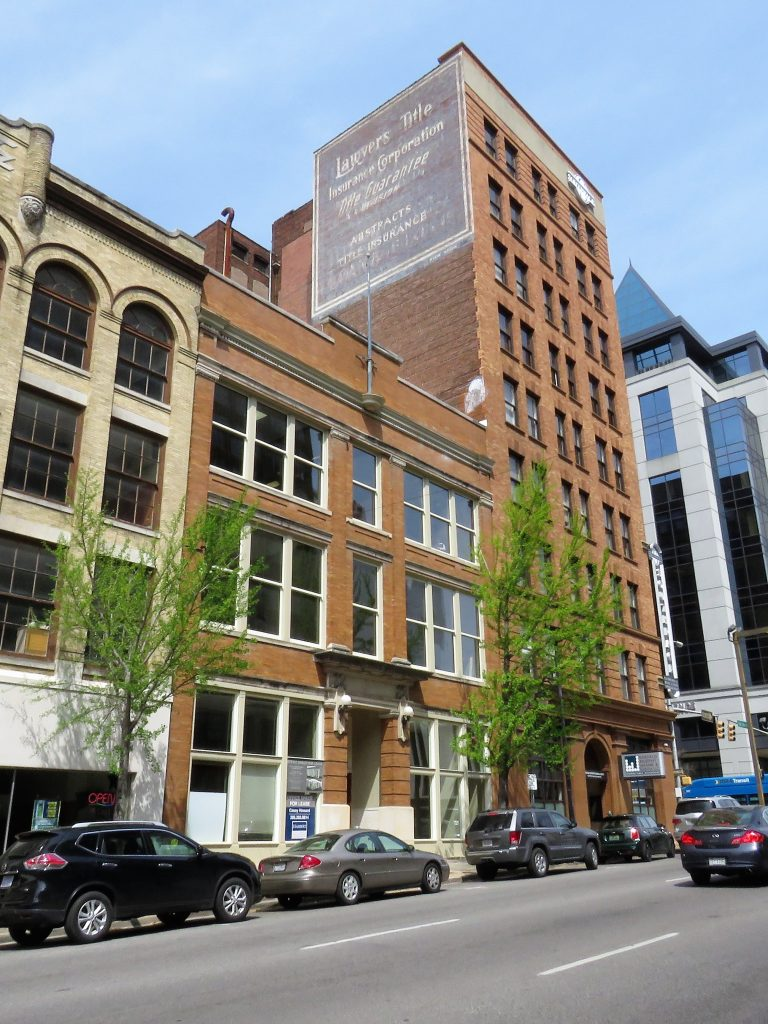 Pictures – Renovations on Historic 3rd Ave. North building