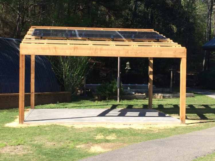 Solar Powered Outdoor Classroom