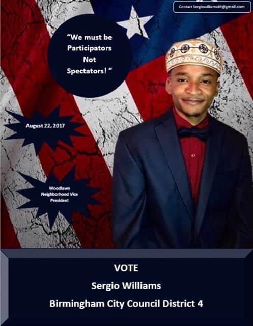 Woodlawn Neighborhood Association VP running for Birmingham city council