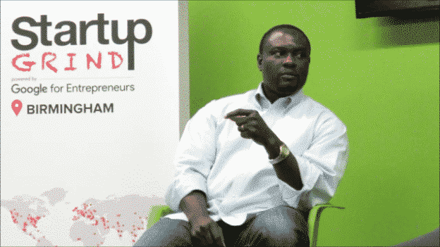 Startup Grind Birmingham features local entrepreneur Shegun Otulana, CEO of TheraNest