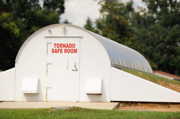 Tornado Safe Room.