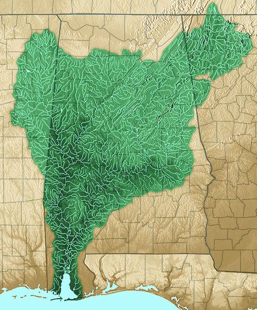 Mobile Bay River Basin