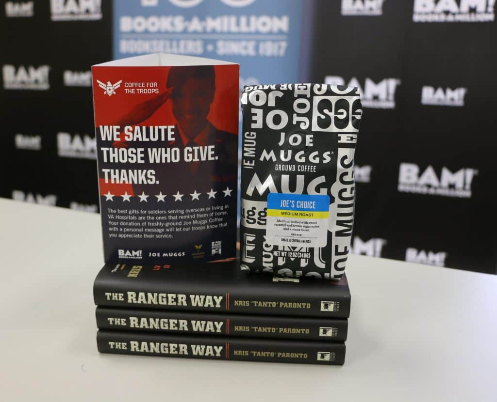 Books A Million Coffee For the Troops