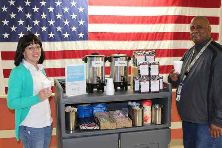 Coffee for the Troops Birmingham AL Books-A-Million