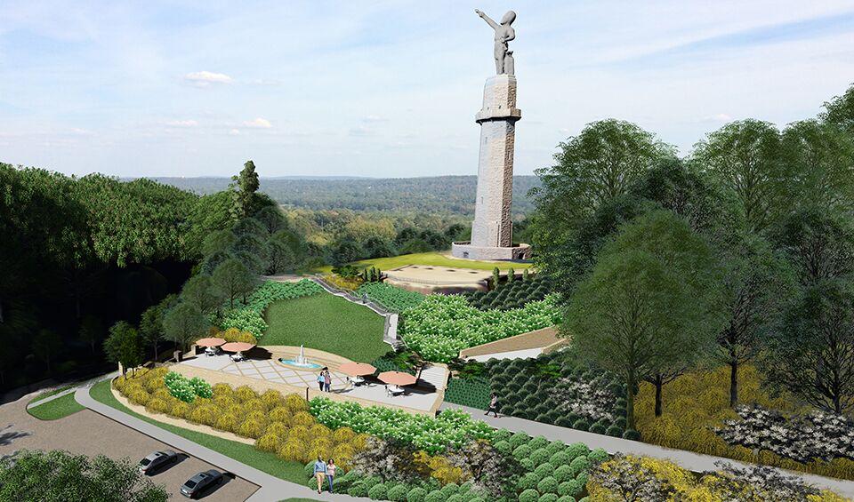 Birmingham's Kiwanis Club celebrates 100th with new Vulcan Trail Park