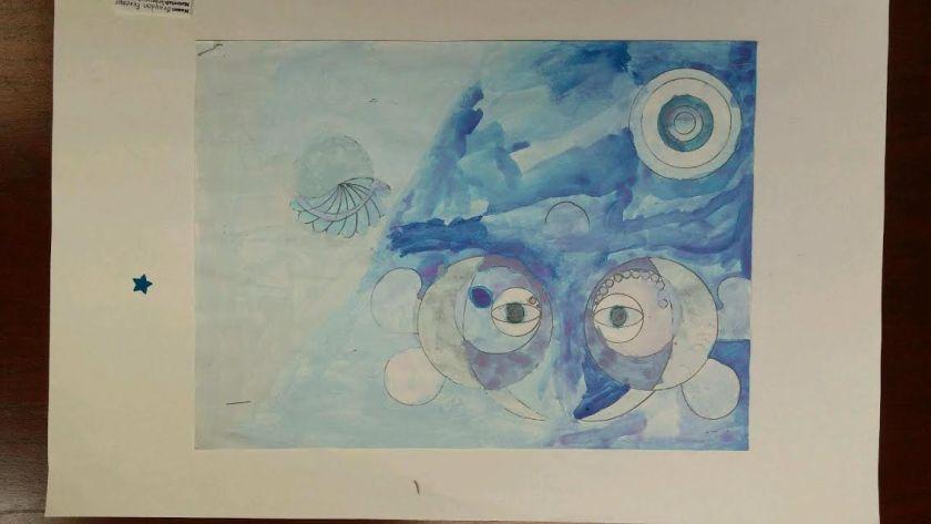 Fultondale Elementary art student Birmingham Alabama