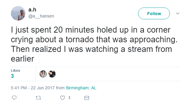 8 Must See Tweets about Yesterday's Inclement Weather in Birmingham