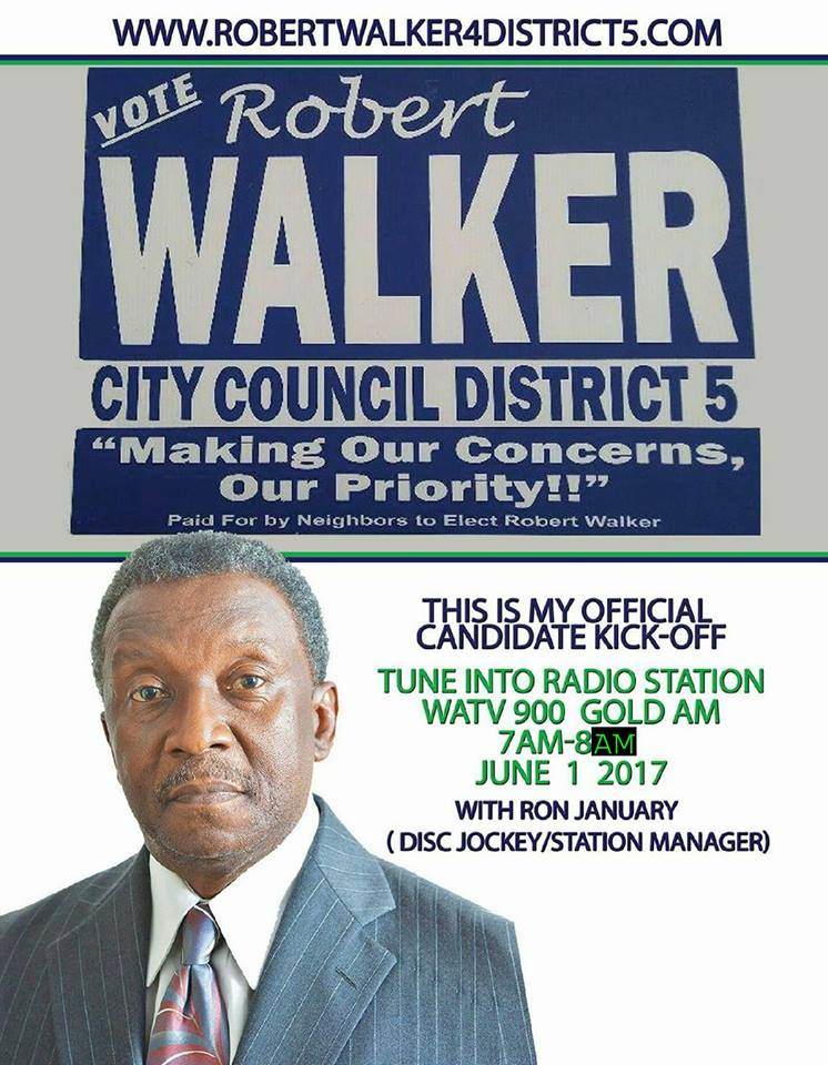 Here's an interview with Birmingham City Council District 5 candidate Robert Walker