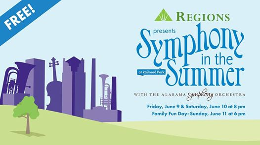 Alabama Symphony Orchestra Symphony in the Summer Regions Bank Birmingham aL