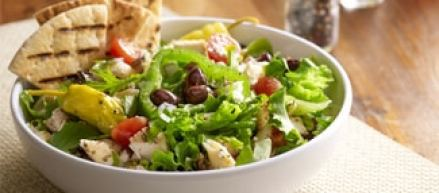 Image may include: greek salad