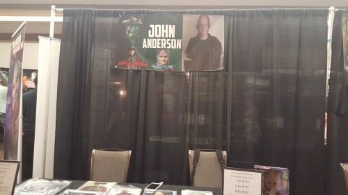 Magic City Con 2017 - John Anderson display.