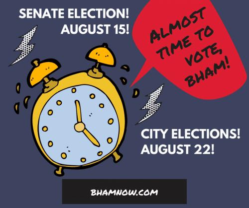 vote, election, birmingham, alabama, graphic