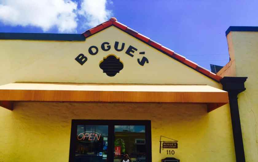 Bogue's exterior
