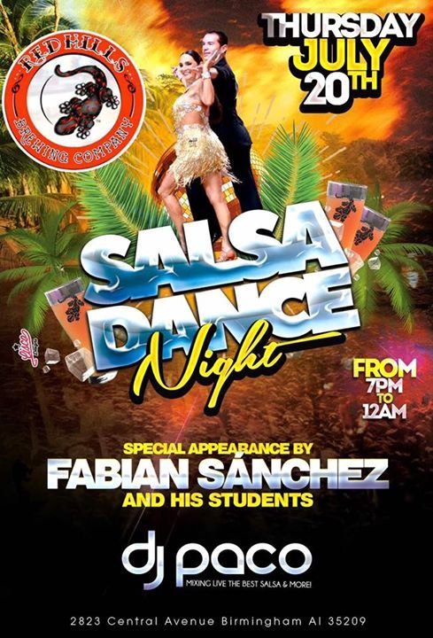 Salsa Dance Night Birmingham Top Things to Do Events