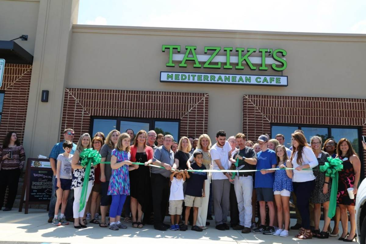 Taziki's welcomes future new look and newest addition in Alabaster
