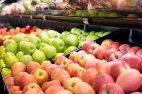 Image may include: apples in healthy Birmingham grocery store