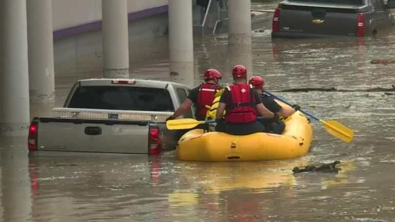 Vestavia flooding