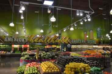 Image may include: america's healthiest grocery store sign at Whole Foods in Mountain Brook
