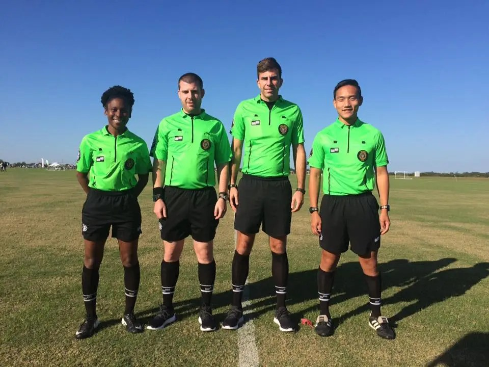 Love soccer? Become a soccer referee