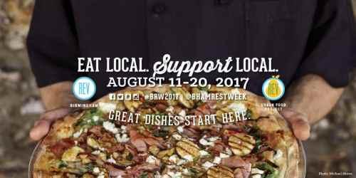 Birmingham, Restaurant Week, BRW, culinary, food, Alabama, event