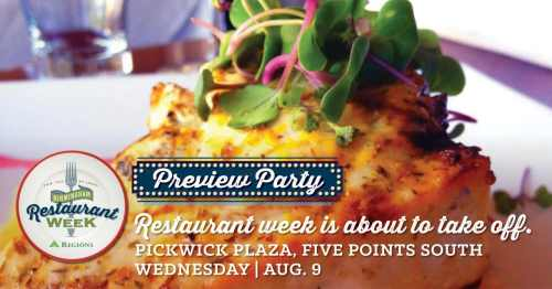 Birmingham, Alabama, Birmingham Restaurant Week, BRW, food, culinary, event