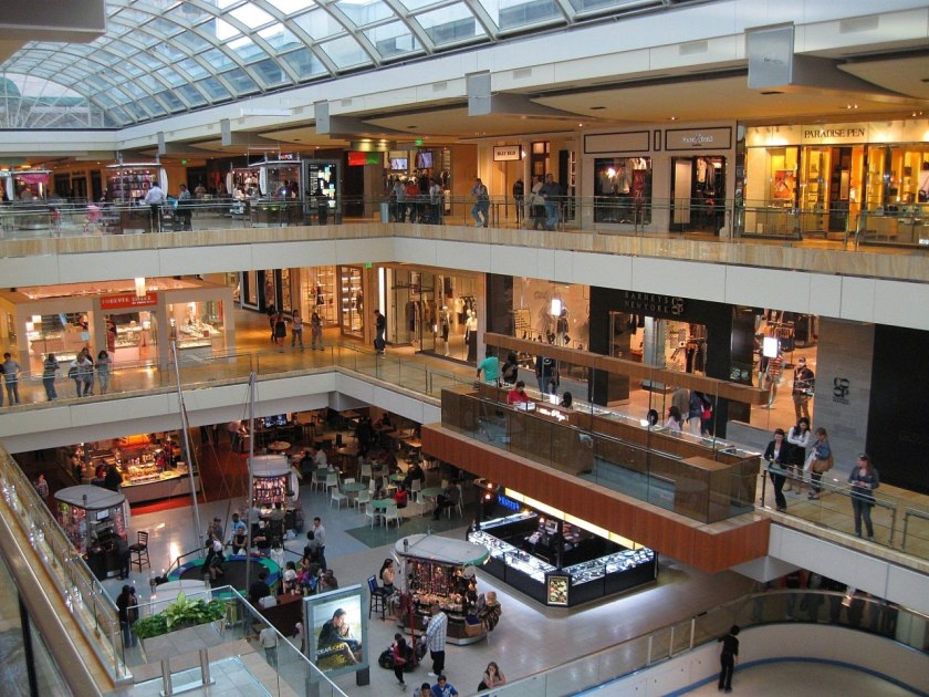 Galleria shopping center in Hoover