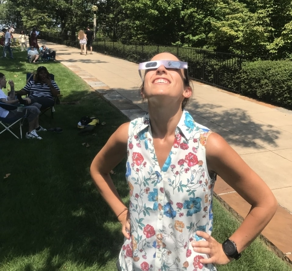 Look who we caught at Vulcan Park's eclipse event today!