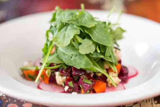 Last year's first-course salad offering from Little Savannah's BRW menu. Photo submitted.