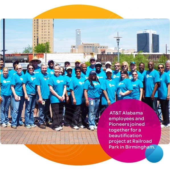AT&T is tops in connecting to the good in our community