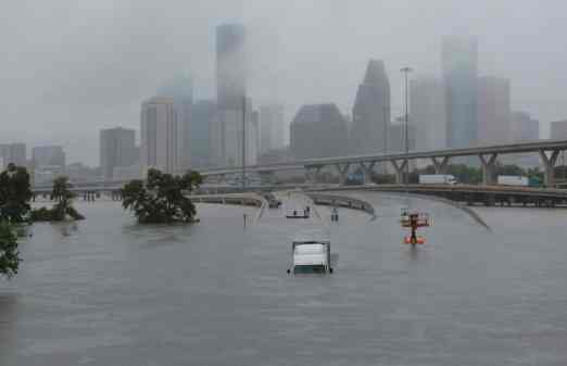 Harvey floods Houston