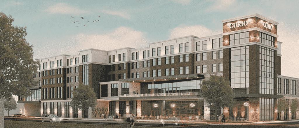 New Hilton Curio hotel plans to come to Homewood